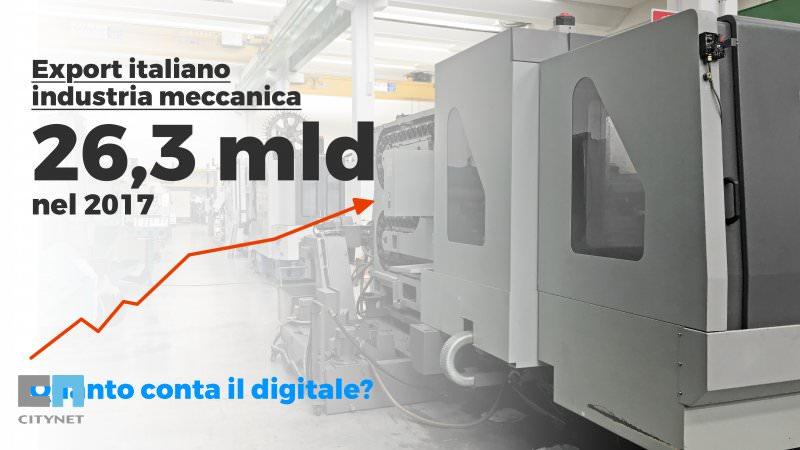Export della Meccanica italiana in crescita