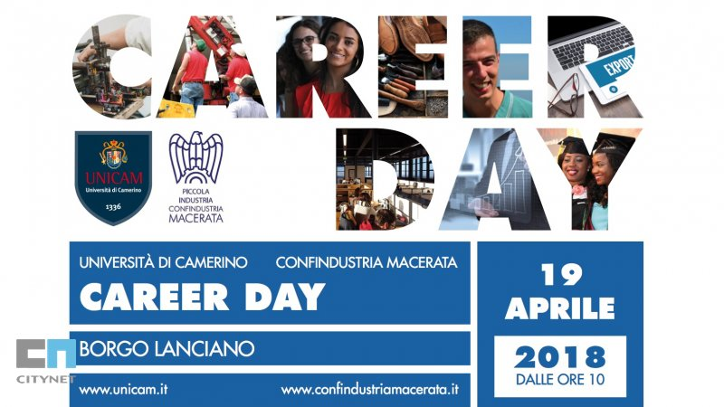 Collaborazione Citynet e UNICAM per il Career Day 2018