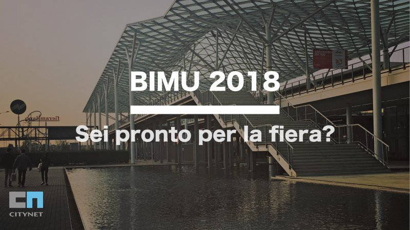 Web Marketing Citynet per la BIMU 2018