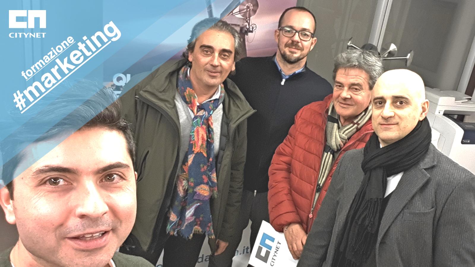 Formazione Marketing Citynet alla GMG Games di Ancona