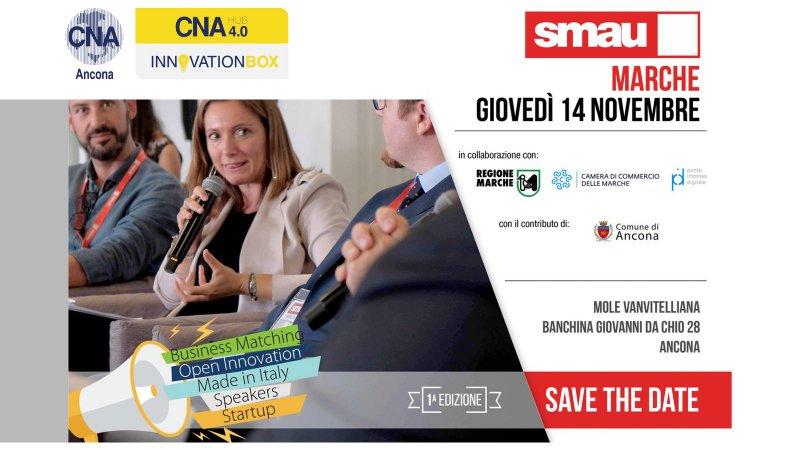 Citynet con CNA Ancona vi invita a SMAU Marche